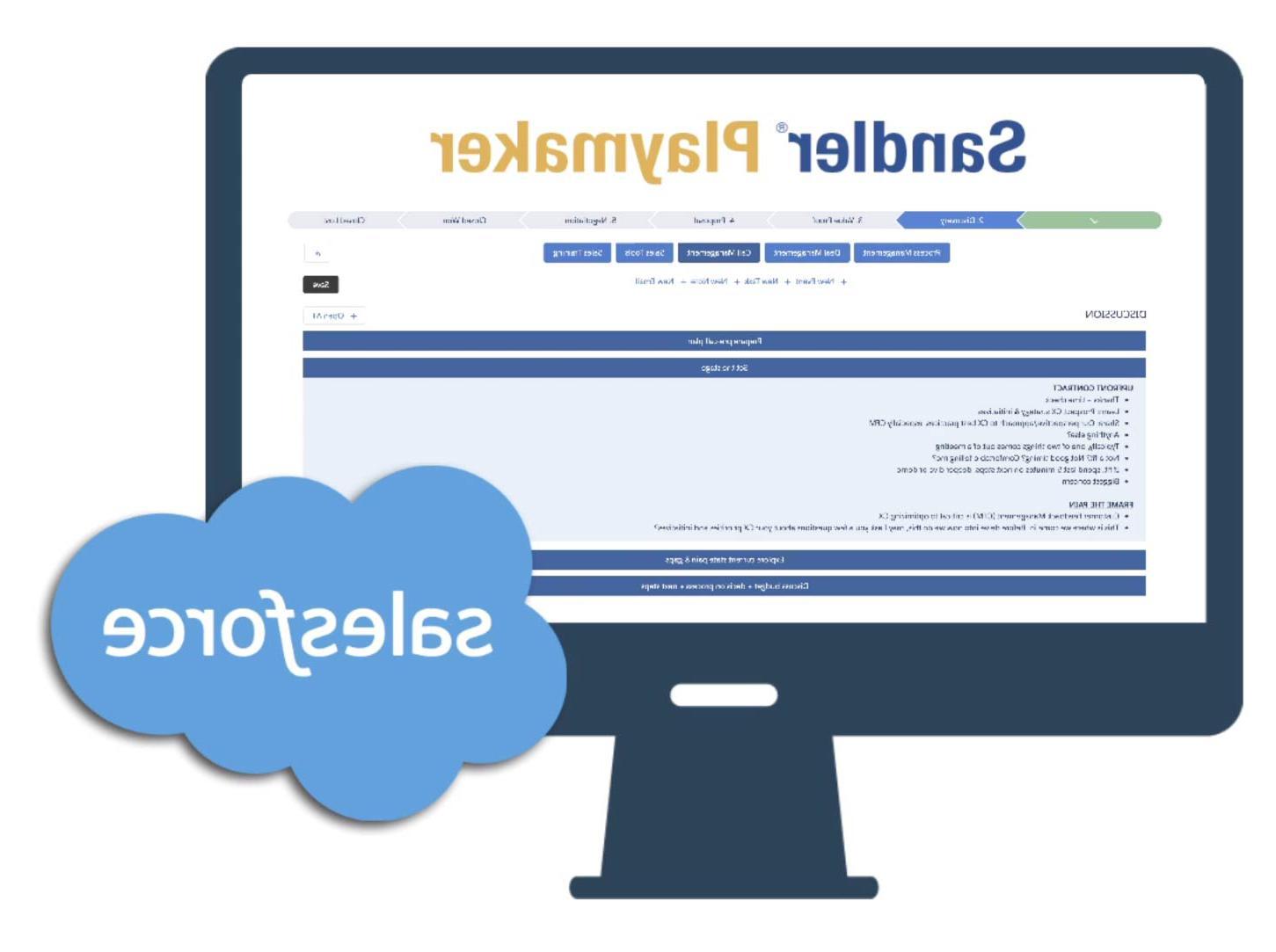 桌面Salesforce标志